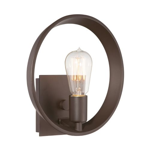 Quoizel Theater Row QZ/THEATERROW1WT Single Wall Light Western Bronze
