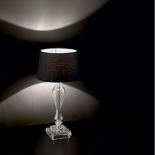 Ideal Lux Voga TL1 White Table Lamp 001180