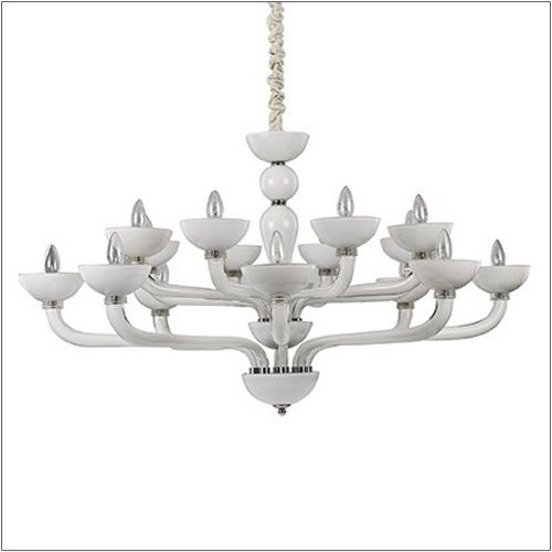 Ideal Lux Casanova Ceiling Light White SP16 094120