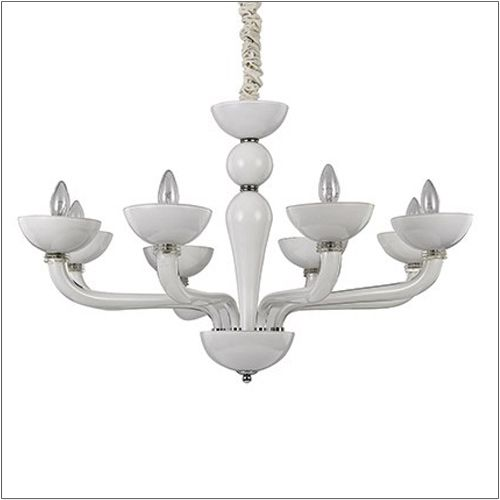 Ideal Lux Casanova Ceiling Light White SP8 094045