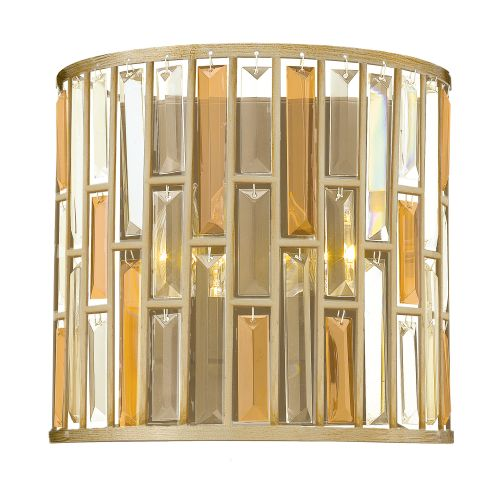 Hinkley Gemma Wall Light HK/GEMMA2/A SL Silver Leaf