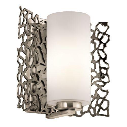 Kichler Silver Coral Wall Light KL/SILCORAL1