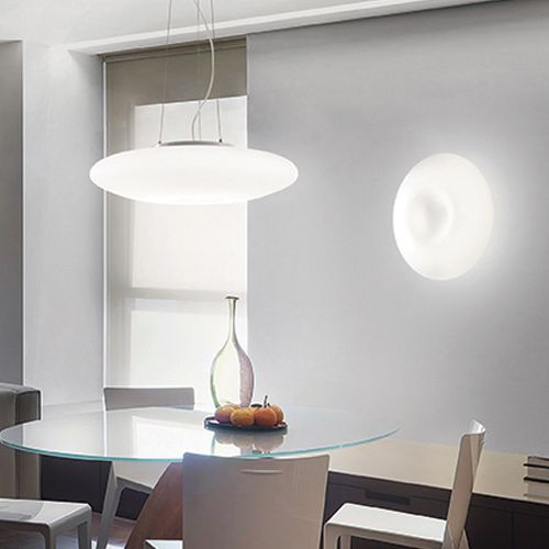 Ideal Lux Glory Wall Light White PL2 D40 101132