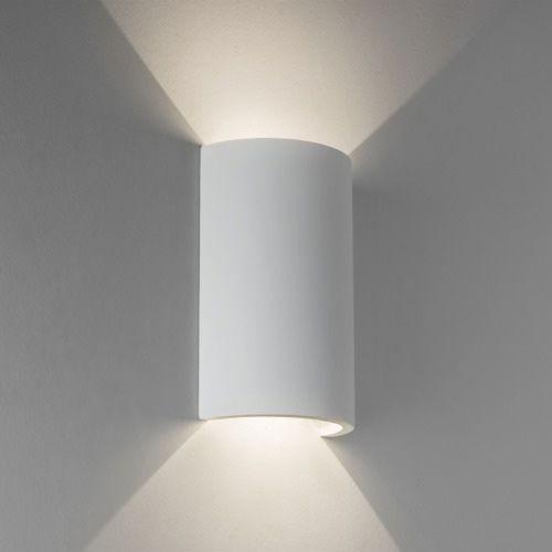 Astro Serifos LED White Plaster Wall Light 7375