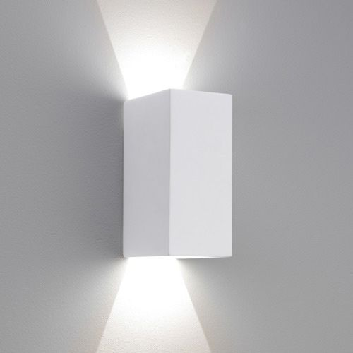 Astro Parma 160 LED Up Down Wall Light 1187014 White Plaster