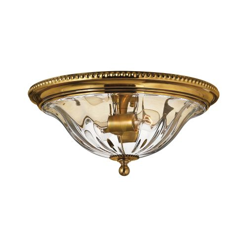 Hinkley Cambridge 2 Light Burnished Brass Flush Mount HK/CAMBRIDGE/F/A