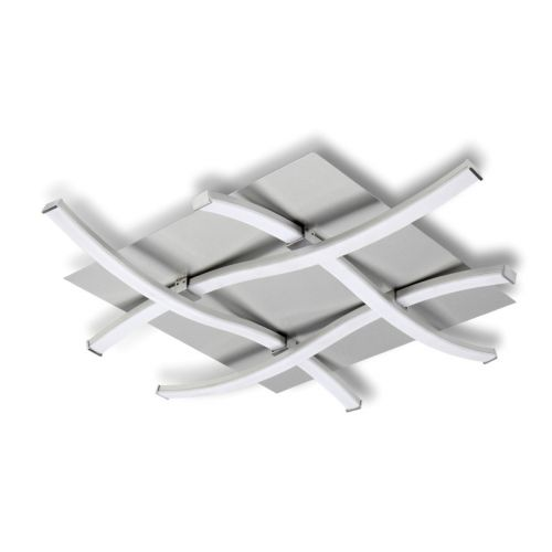 Mantra M4984 Nur Non-Dimmable LED 1 Light Square Ceiling Flush Fitting