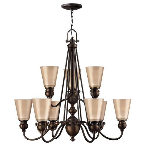 Hinkley Mayflower 9 Light Ceiling Chandelier HK/MAYFLOWER9