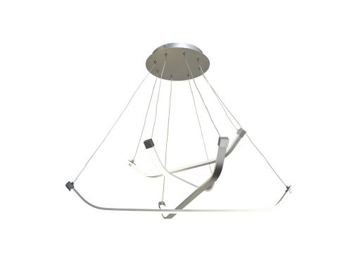 Mantra M5571 Papau 1Lt LED Silver Multi-Arm Pendant Light