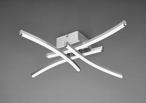 Mantra M5101 Surf 1Lt LED Silver Flush Ceiling Light