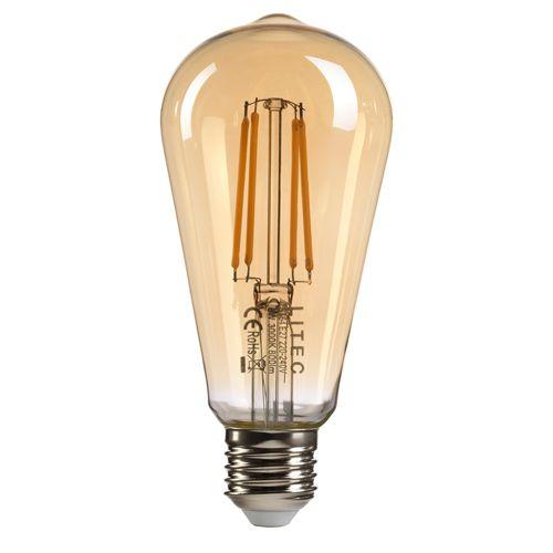 Vintage Edison LED Lamp 8Watt E27 Cap Warm White