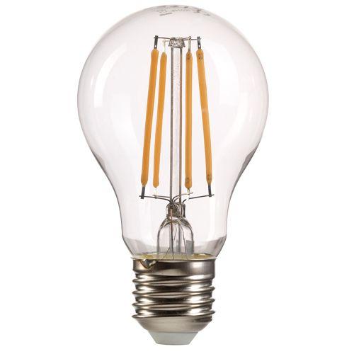 GLS LED Lamp 8Watt E27 Cap Warm White