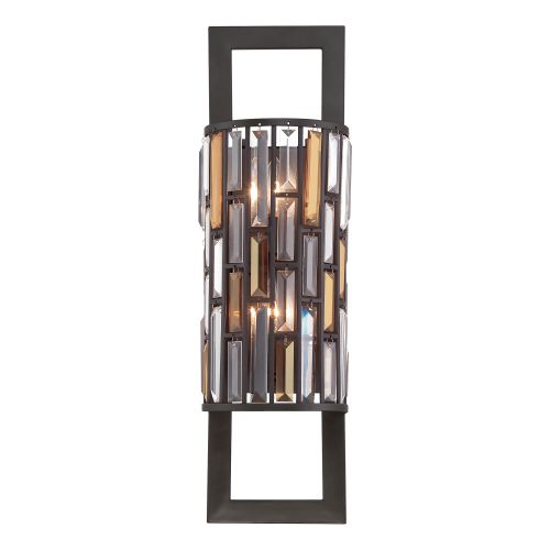 Hinkley HK/GEMMA2/B VBZ Gemma 2Lt Old Bronze Wall Light