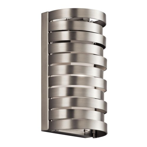 Kichler KL/ROSWELL1 Roswell 1Lt Brushed Nickel Halogen Sconce Wall Light
