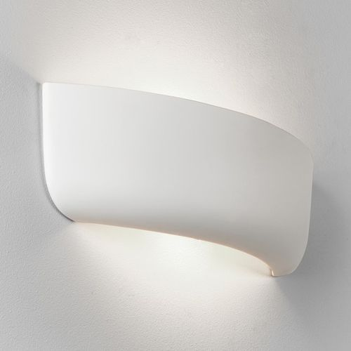 Astro 7967 Gosford 1Lt White Ceramic Wall Light