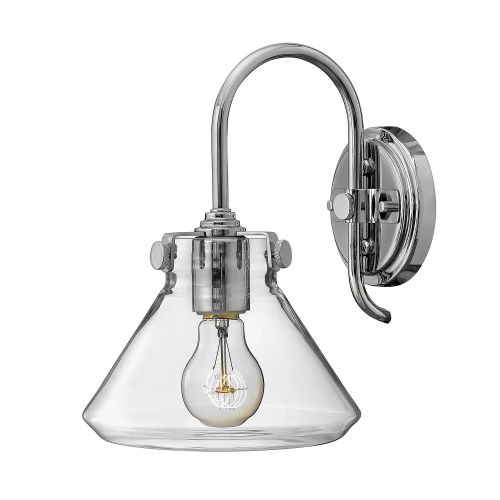 Hinkley HK/CONGRES1/A CM Congress 1Lt Chrome Wall Light