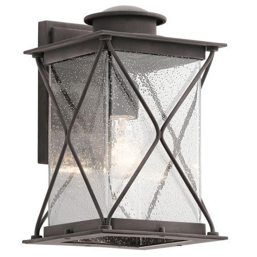 Kichler KL/ARGYLE2/M Argyle 1Lt Weathered Zinc Outdoor Wall Light