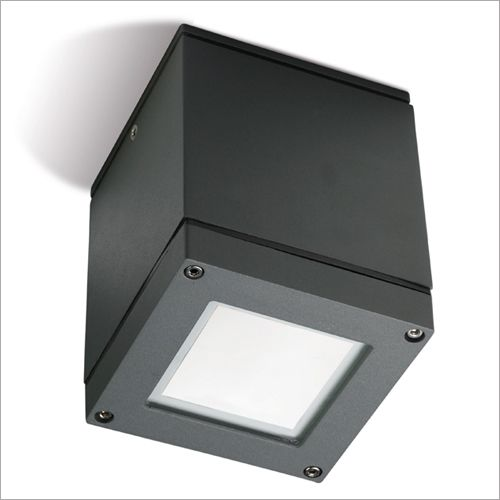 LEDS C4 Afrodita Urban Grey Outdoor Flush Ceiling Fitting 15-9328-Z5-B8
