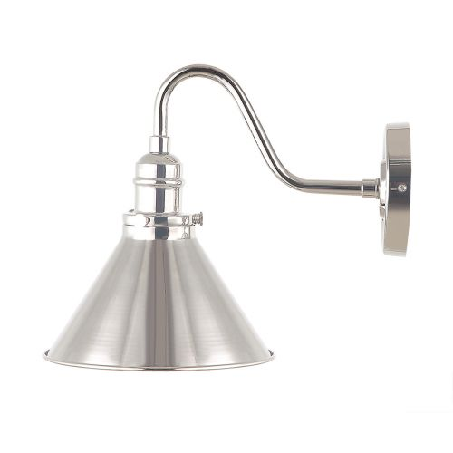 Elstead PV1 PN Provence 1Lt Polished Nickel Wall Light