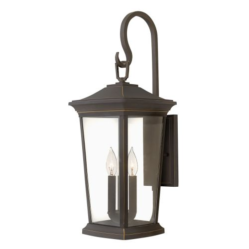Hinkley HK/BROMLEY2/L Bromley 3Lt Oil Rubbed Bronze Outdoor Wall Lantern