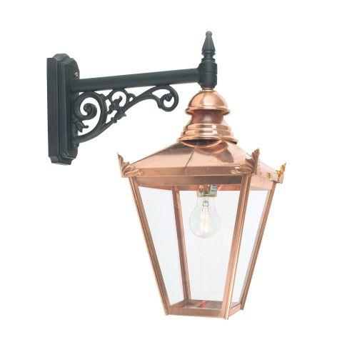 Norlys CS2 COPPER Chelsea 1Lt Outdoor Wall Lantern