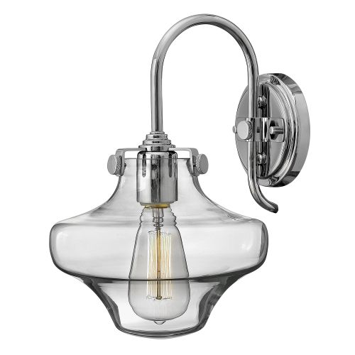Hinkley HK/CONGRES1/B CM Congress 1Lt Chrome Wall Light