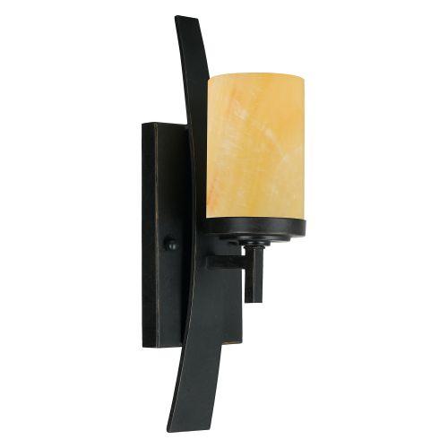 Quoizel QZ/KYLE1 Kyle 1Lt Imperial Bronze Wall Light