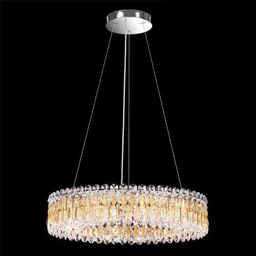 Schonbek RS8343 Sarella 12Lt Swarovski Spectra Crystal Ceiling Pendant