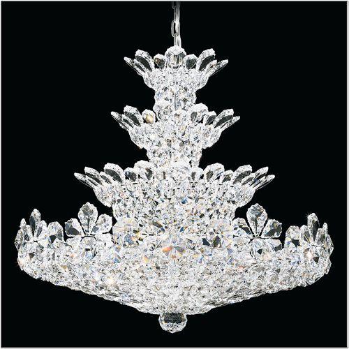 Schonbek 5856 Trilliane 30Lt Swarvoski Strass Crystal Chandelier