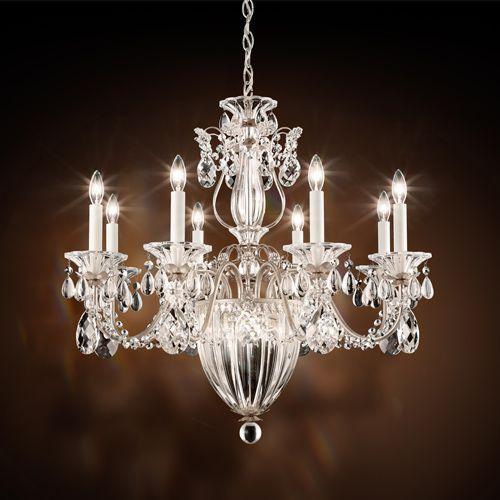 Schonbek 1238 Bagatelle 11Lt Heritage Crystal Ceiling Chandelier