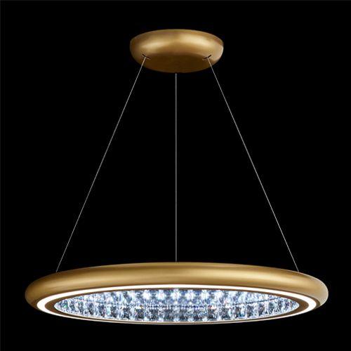Swarovski MFC301 Infinite Aura LED Crystal Pendant Gold Frame