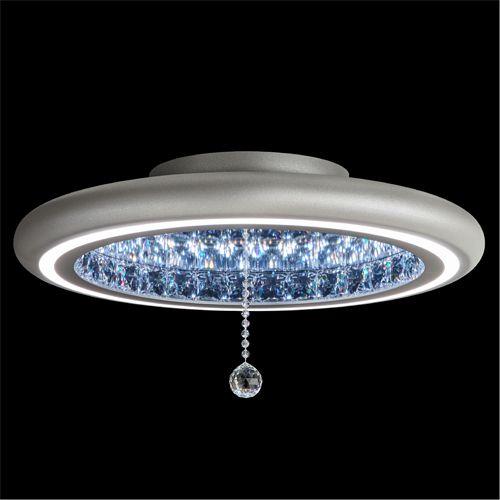 Swarovski MFC220 Infinite Aura LED Crystal Flush Silver Frame