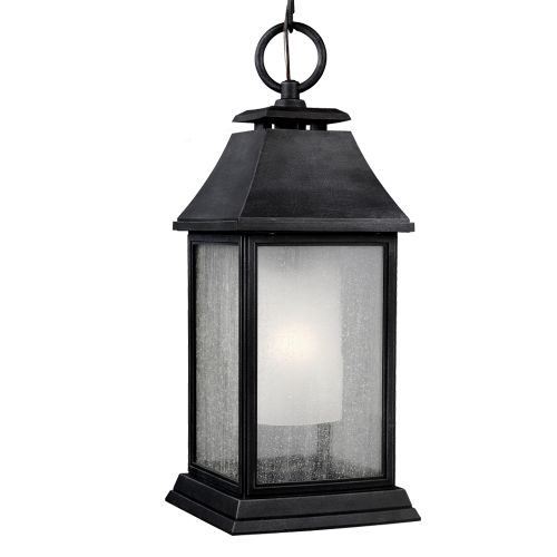 Feiss Shepherd Large Outdoor Pendant Dark Weathered Zinc ELS/FE/SHEPHERD/8L