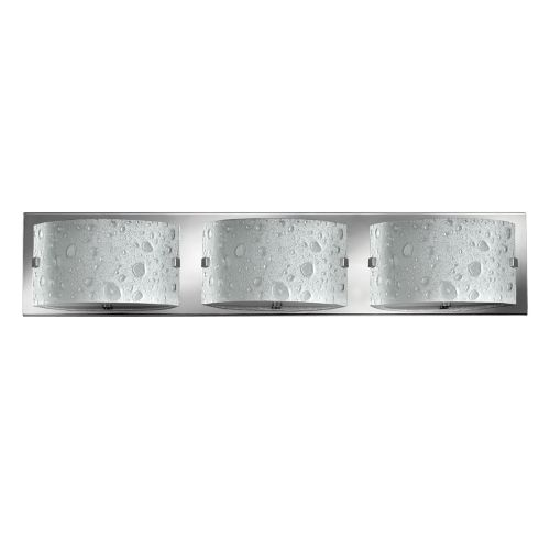 Hinkley Daphne 3lt Bathroom Wall Light Polished Chrome ELS/HK/DAPHNE3 BATH