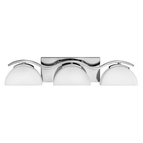 Hinkley Verve 3lt Bathroom Wall Light Polished Chrome ELS/HK/VERVE3 BATH