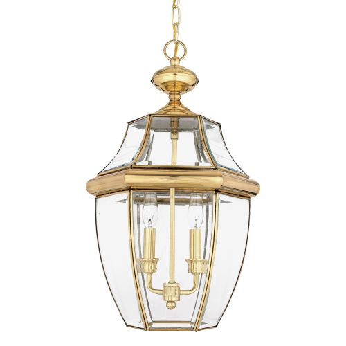 Quoizel Newbury Large Outdoor Lantern Polished Brass ELS/QZ/NEWBURY8/L
