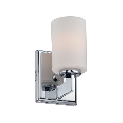 Quoizel Taylor 1lt Small Wall Light Polished Chrome ELS/QZ/TAYLOR1S BATH