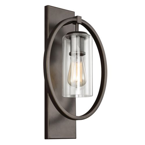 Feiss Marlena 1Lt Wall Light Antique Bronze FE/MARLENA1 ANBZ
