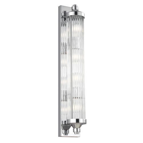 Feiss Paulson 4Lt Bar Wall Light Chrome FE/PAULSON/W4