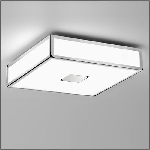 Astro Mashiko Classic 300 Flush Polished Chrome Ceiling Fitting 0681
