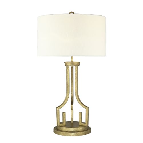 Gilded Nola Lemuria Table Lamp Distressed Gold GN/LEMURIA TL