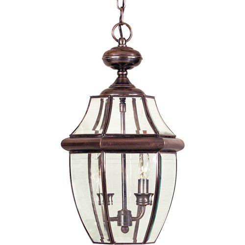 Quoizel Newbury Large Outdoor Lantern Aged Copper QZ/NEWBURY8/L AC
