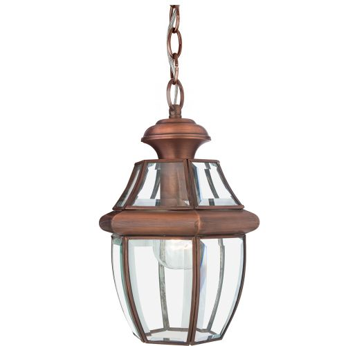 Quoizel Newbury Medium Outdoor Lantern Aged Copper QZ/NEWBURY8/M AC