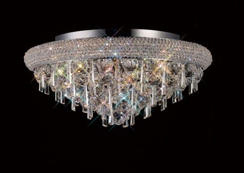 Diyas  Alexandra 7 Light Ceiling Light Polished Chrome/Crystal IL31446