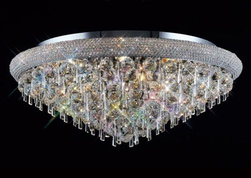 Diyas  Alexandra 16 Light Ceiling Light Polished Chrome/Crystal IL31448