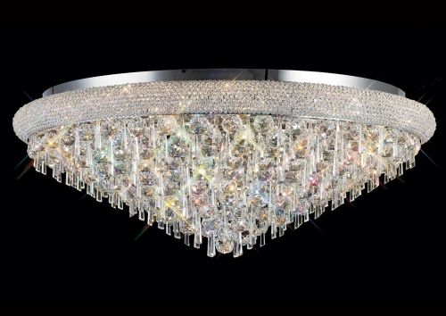 Diyas Alexandra 18 Light Ceiling Light Polished Chrome/Crystal IL31449