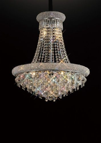Diyas  Alexandra 13 Light Pendant  Polished Chrome/Crystal IL31451