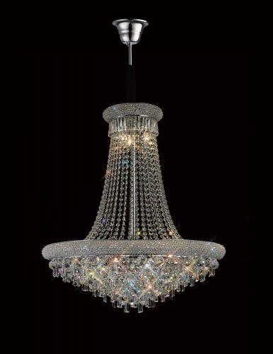 Diyas  Alexandra 18 Light  Pendant Polished Chrome/Crystal IL31452