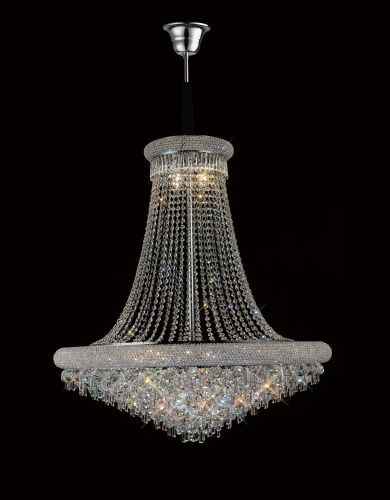 Diyas  Alexandra 20 Light Pendant Polished Chrome/Crystal IL31453