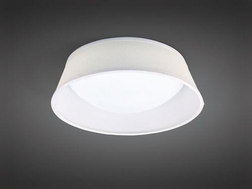 Mantra M4960E Nordica Ceiling Light Fitting E27 Max 2cm White Acrylic Ivory White Shade